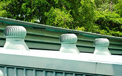 Service de ventilation de toiture - ventilation entretoit ...